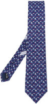 Salvatore Ferragamo boat print tie - men - Silk - One Size