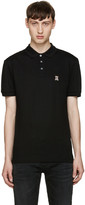 Moschino Black Teddy Bear Polo