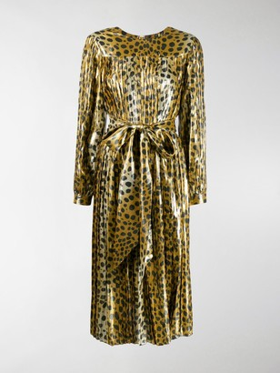 Marc Jacobs Runway Pleated Dress