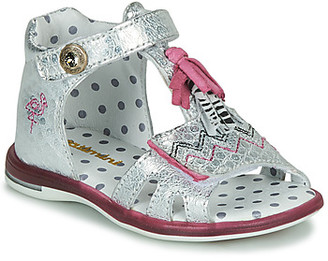 Catimini COSMOS girls's Sandals in Silver