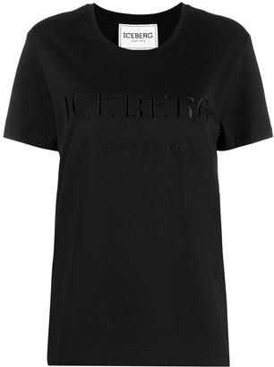 Iceberg embroidered-logo T-shirt