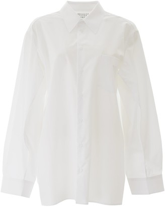 Maison Margiela Oversized Sleeve Detail Shirt