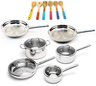 Berghoff Boreal 16Pc Stainless Steel Cookware Set And Utensils