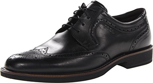 Ecco Men's Biarritz Classic Wing Tip Oxford