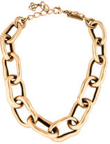 Oscar de la Renta Large Chain Link Necklace