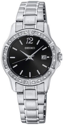 Seiko Women Stainless Steel Bracelet Watch 28mm