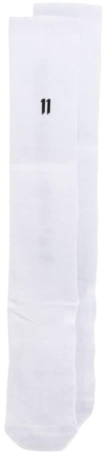 11 By Boris Bidjan Saberi logo socks