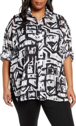 Ming Wang Tunic Shirt