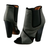 Givenchy Blue Cloth Ankle boots