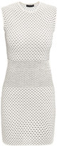 Alexander McQueen 3D stripe knitted dress