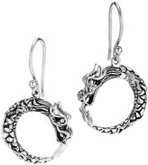 John Hardy Dragon Hoop Earrings, Small