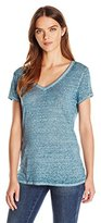 Threads 4 Thought Women's Vintage Wash V Neck Short Sleeve Tee