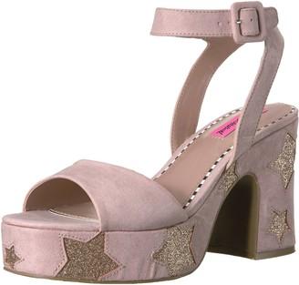 Betsey Johnson Women's Claude Platform Dress Sandal