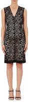 Lanvin Women's Floral Lace Sheath Dress-BLACK
