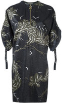 Nina Ricci printed shift dress - women - Viscose - 34