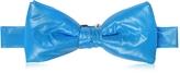 Forzieri Sky Blue Nylon Puffer Bow Tie