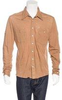 Nicholas K Pocketed Woven Shirt