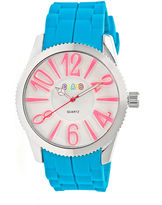 Crayo Womens Magnificent Cerulean Strap Watch CRACR2905