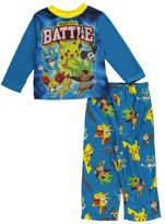 "Pokemon Little Boys' ""Ready for Battle"" 2-Piece Pajamas"