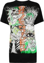 Diesel T-Daria-YB sketch-print T-shirt