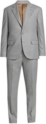 Brunello Cucinelli Flannel Wool Suit
