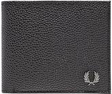 Fred Perry Scotch Grain Billfold Wallet, Black