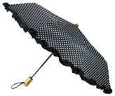 Saks Fifth Avenue Collection Ruffled Automatic Umbrella