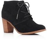 Toms Lunata Lace Up High Heel Booties