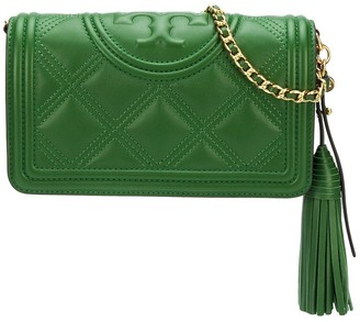 Tory Burch Fleming quilted crossbody bag