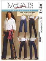 Mccall's M5142 Misses' Jeans, Size CCD (10-12-14-16) by
