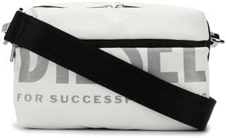 Diesel Logo Print Cross Body Bag