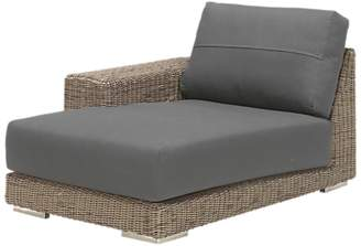 4 Seasons Outdoor Kingston Modular Garden Chaise Sofa, Right Hand Side