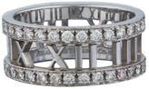 Tiffany & Co. Wide Diamond Atlas Ring