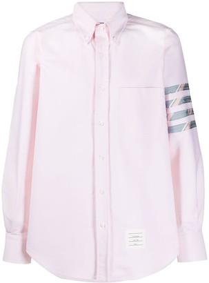 Thom Browne 4-Bar straight fit shirt