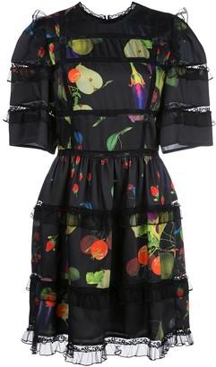 Cynthia Rowley Olivia silk mini dress