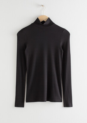 And other stories Long Sleeve Turtleneck Top