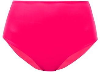 JADE SWIM Bound High-rise Bikini Briefs - Womens - Pink