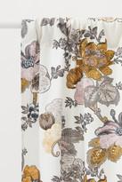 H&M 2-pack Slub-weave Curtains - White