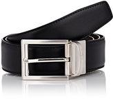 Ermenegildo Zegna Men's Reversible Leather Belt-BROWN