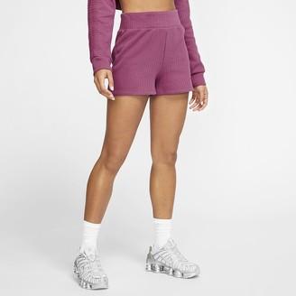 Nike Women's Ribbed Shorts Sportswear