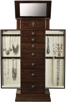 MONET JEWELRY Monet Jewelry Chestnut Jewelry Armoire