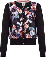 Yumi Floral Front Cardigan