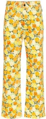 Simon Miller Winter Blossom printed trousers