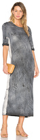 Iro . Jeans Tais Dress in Charcoal. - size M (also in S,XS)