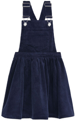 Arket Corduroy Dungaree Dress