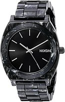 Nixon Women's A3272185 Time Teller Acetate Analog Display Japanese Quartz Multi-Color Watch