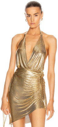 Fannie Schiavoni Cher Top in Gold | FWRD