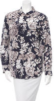 Equipment Floral Printed Top