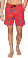 Marc by Marc Jacobs Men's Woven Printed Swim Trunks