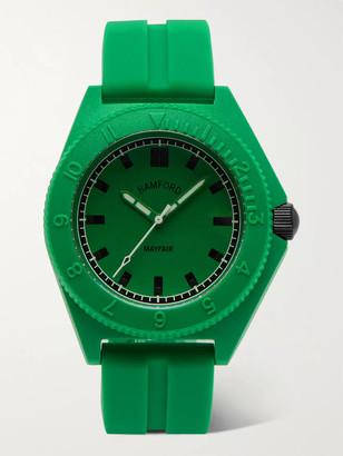 Bamford Watch Department Mayfair Sport Polymer And Rubber Watch